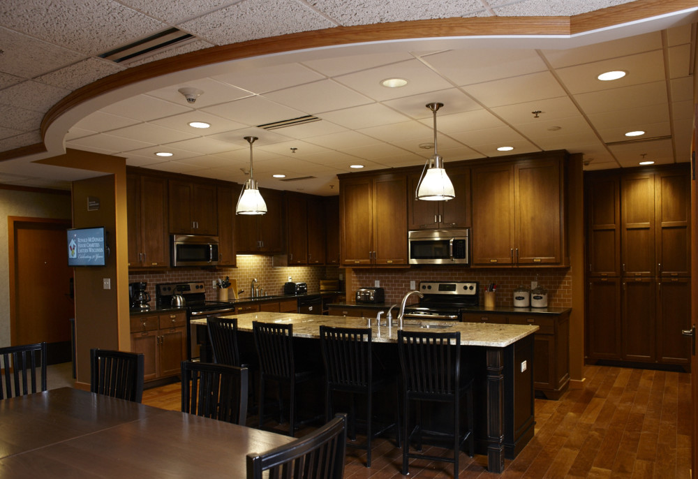 Our kitchens for guest family use