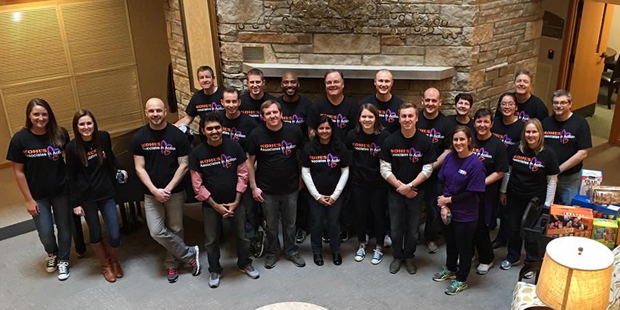 Kohl's Volunteers