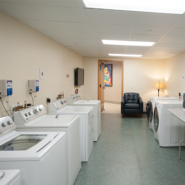 Laundry Room for Guest Use