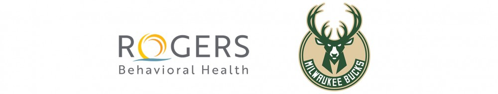 Rogers Behavioral Health and Milwaukee Bucks-Valet Sponsors