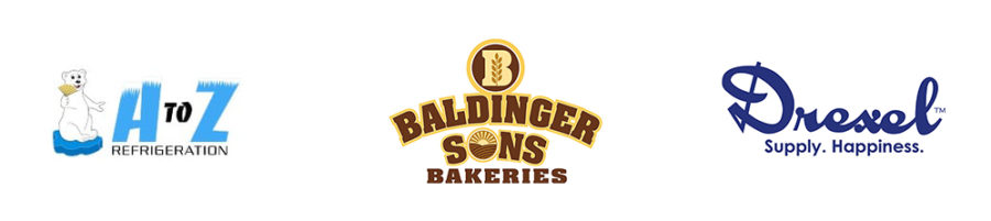 Golf 2020 Ball Washer Sponsors AZ Refrigeration Baldinger and Drexel