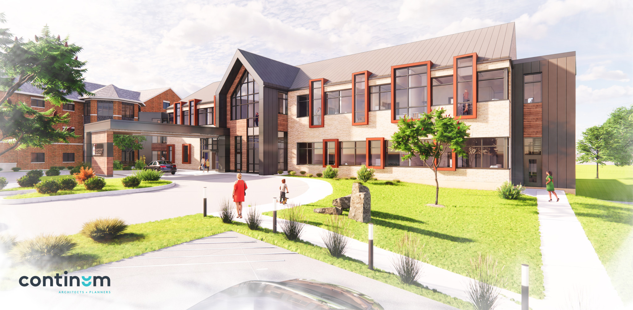 RMHC 2021 Expansion Front Rendering