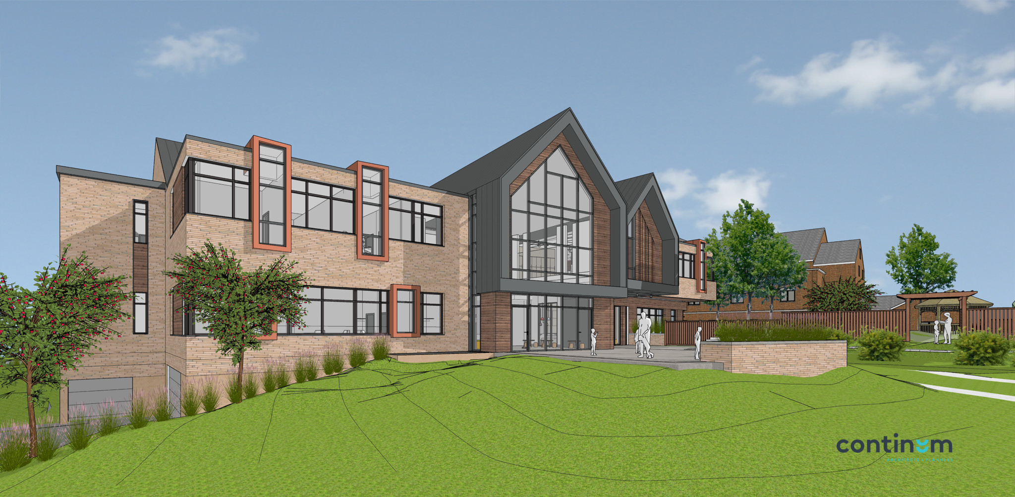 RMHC 2021 Expansion Rear Rendering